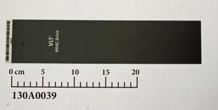 Vorderetikett für FC-102, Bauform B1