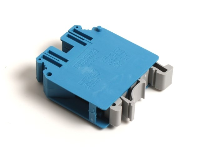 Terminal block blue for 35 mm2 cable
