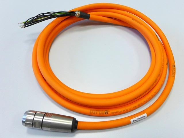 Motor connector with 5 m cable