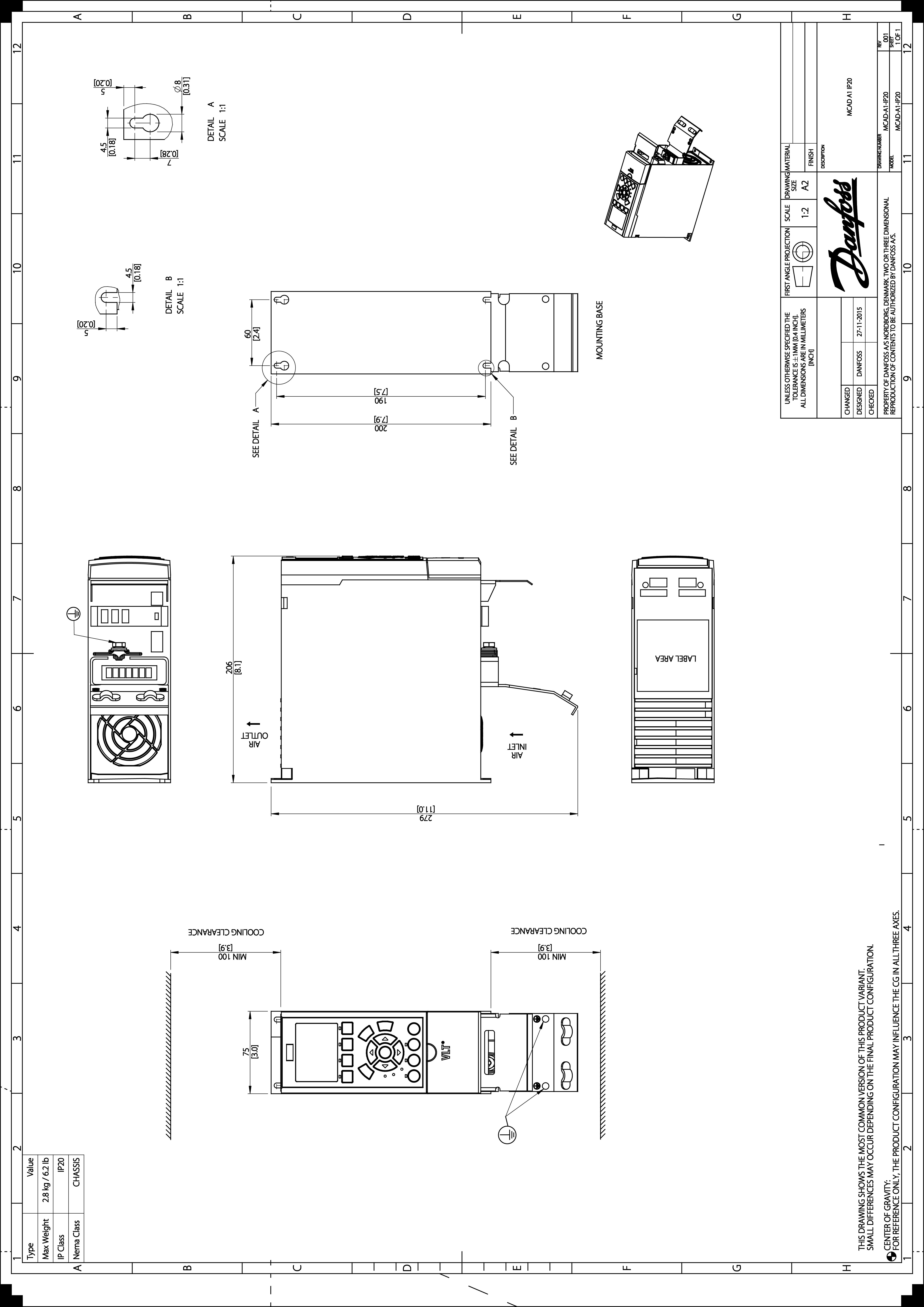 Vlt Automationdrive Fc 301 302 Danfoss 3d Hvac Drawing Images 20 Mb