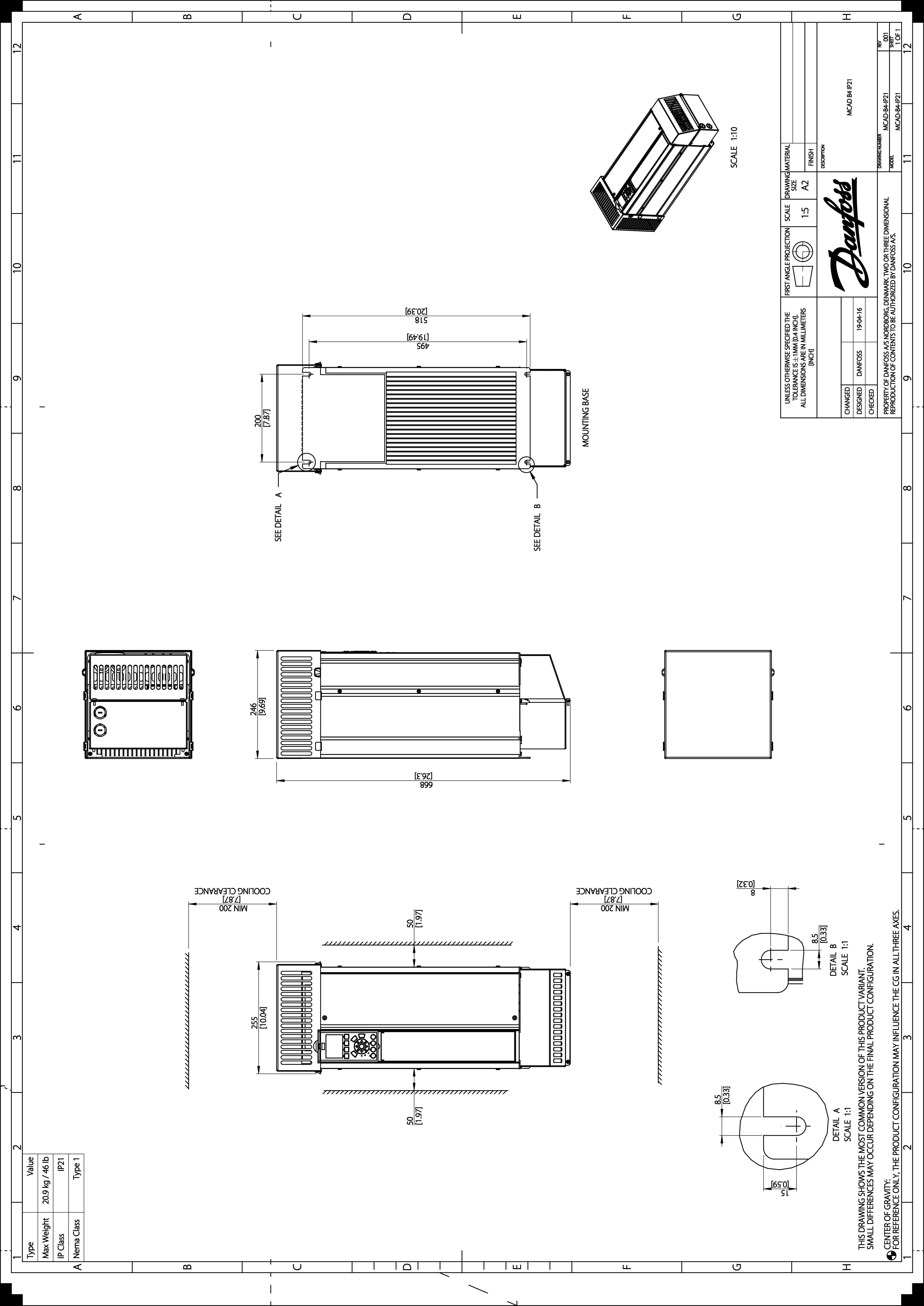 Enhanced Vlt Hvac Drive Fc 102 Danfoss Freedom 20 Inverter Wiring Diagram 21 Mb
