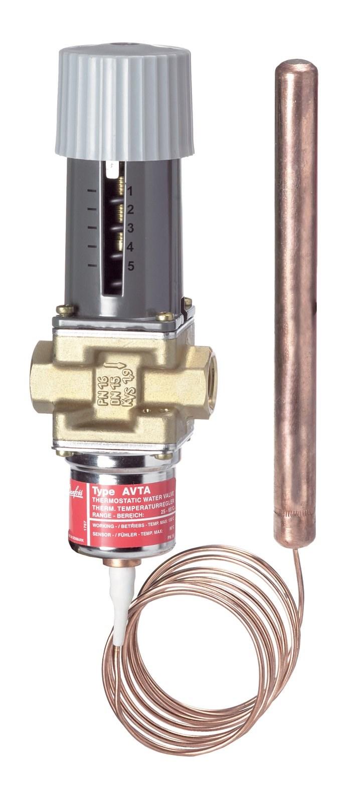 Avta Thermostatic Valves With Temperature Sensitive Sensor Visuals